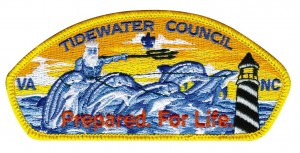 Council patch for the Tidewater Council