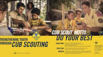 Cub Scouting banner