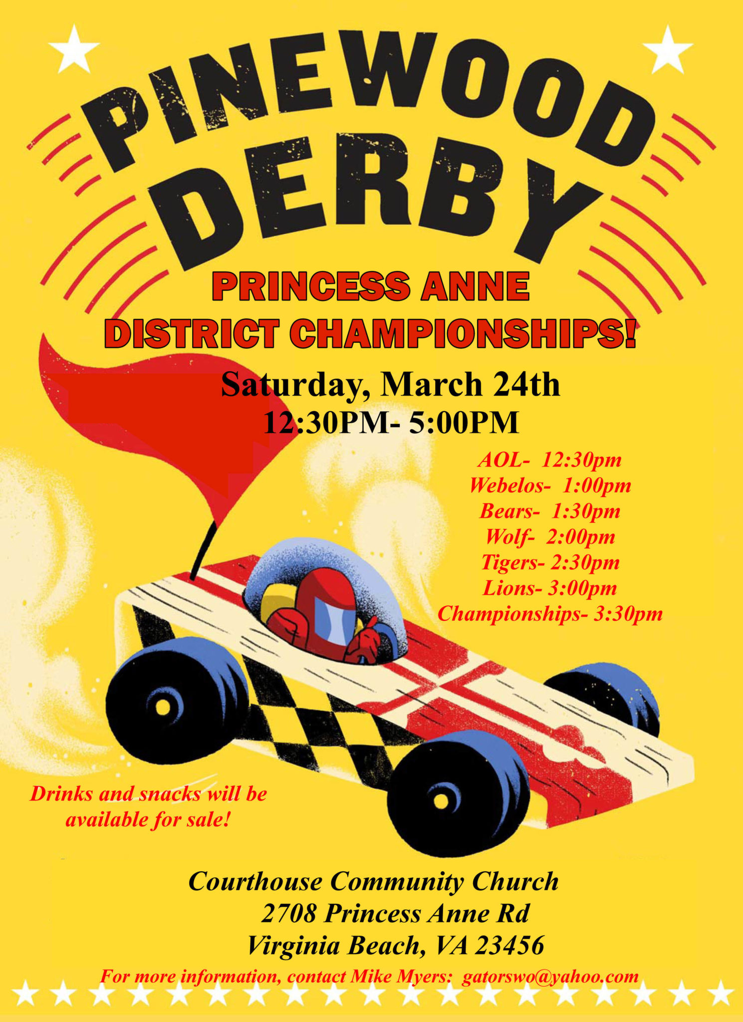 PA – Pinewood Derby | Tidewater Council, BSA